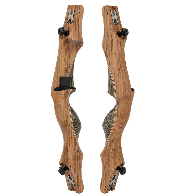 Wooden ILF handle 19'' with limb alignment system