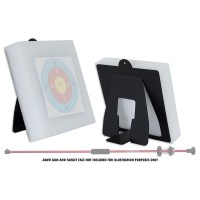 Foam target for blowguns