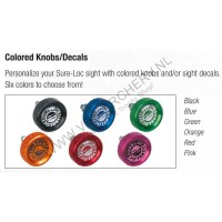 SURE-LOC CUSTOM KNOB AND DECAL KIT