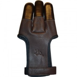 WHITE FEATHER SHOOTING GLOVE DEERSKIN