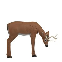 3D DEER GRAZING MEDIUM
